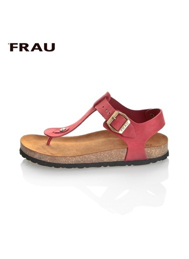 Frau Sandalet Kırmızı
